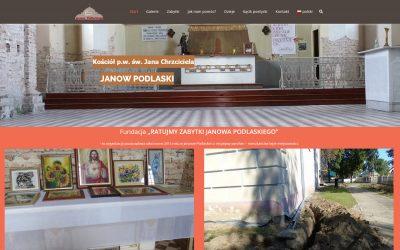 Ratujmy Zabytki Janowa Podlaskiego